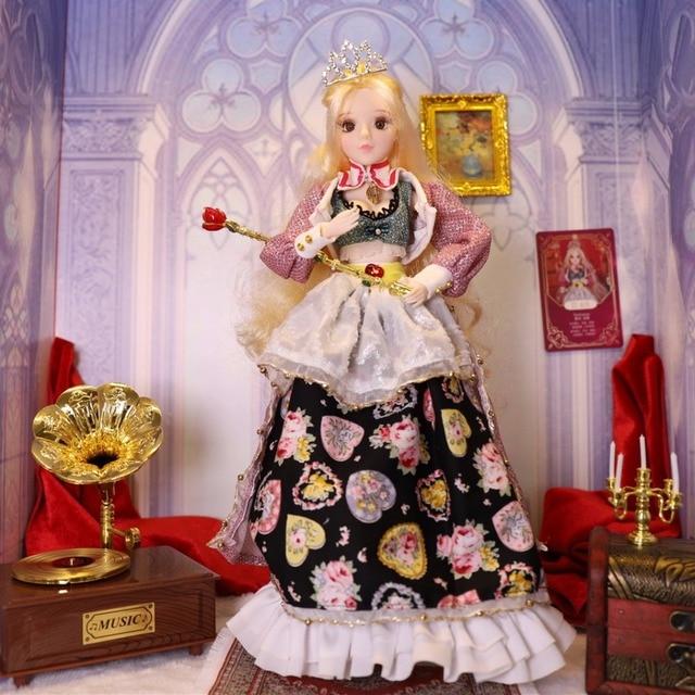TAROT CARD Major Arcana The empress joint body doll golden blonde hair 34cm east barbi 4