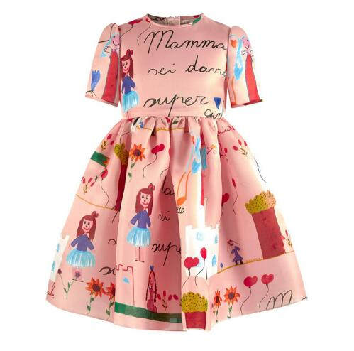 Подробнее о Baby Girl Dress 2016 Brand Girls Summer Dress Children Clothing Lemon Print Kids Dresses for Girls Clothes Robe Princesse Fille robe fille 8 ans baby girl dress children clothing party casual princess dress girl for girls clothes kis dresses summer 2017