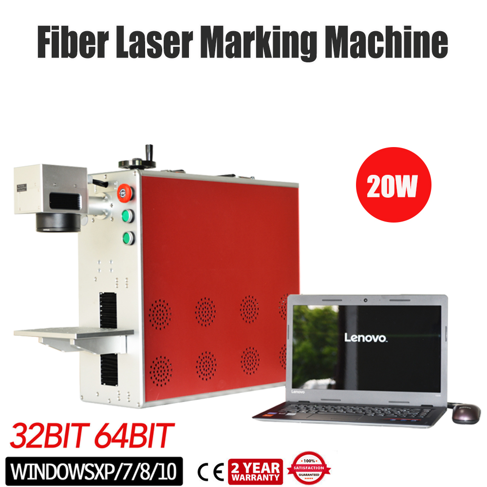 Portable 20W Fiber Laser Marking Machine MAX Laser Engraver Printer Metal Engraver For Metal & Non-MetalPortable 20W Fiber Laser Marking Machine MAX Laser Engraver Printer Metal Engraver For Metal & Non-Metal