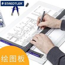 Противоскользящая доска для рисования A3 плоттер архитектурный дизайн Ручная роспись инженерный эскиз стол чертёжная доска A4 угловая линейка