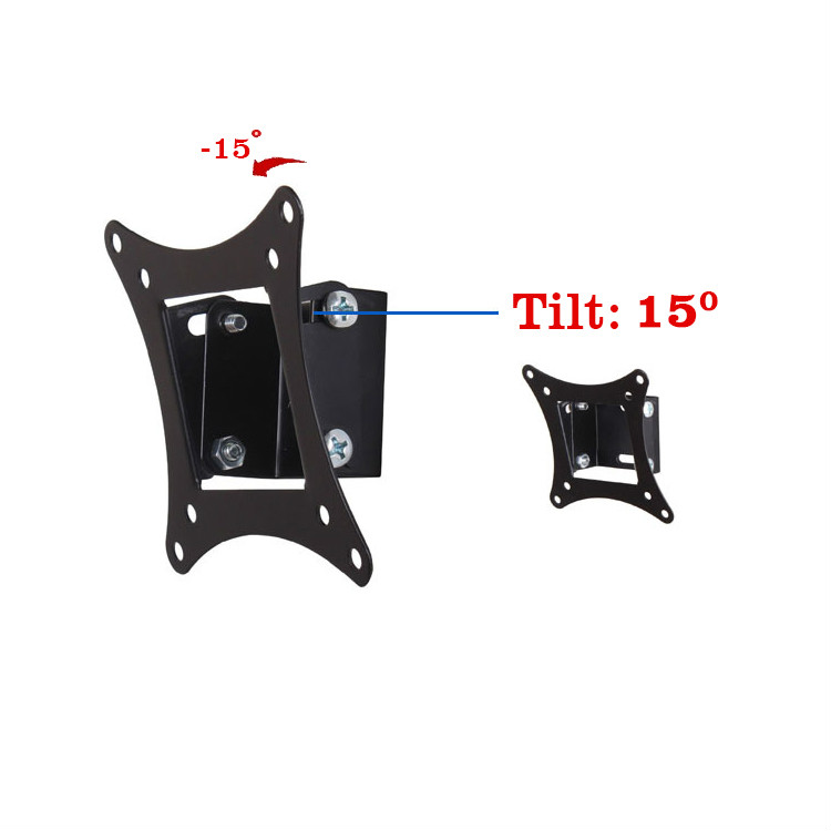 14 quot 26 quot Tilting LCD LED TV Wall Mount Bracket Monitor Holder MT2750 in TV Mount from Consumer Electronics