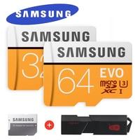 SAMSUNG EVO Micro SD Memory Card 32GB 64GB 128GB Class10 MicroSDXC U3 UHS I TF Card