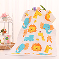 120*60cm Children Printed Gauze Absorbent Infant Newborn Kids Face Washers Beach Wipe Cloth Sweat Baby Stuff Bathrobe Towels