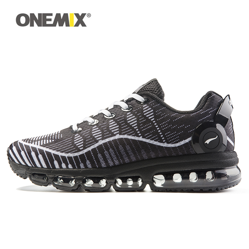 Onemix 2017 men running shoes man sports sneakers new audio breathable mesh light walking shoe run air cushion anti-skid outdoor 2017 new style running shoes man cushioning breathable cool textile sneakers red black men light sports shoes