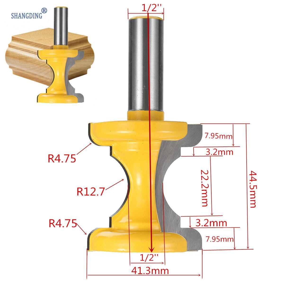 Puidutöötlemise lõikeriist 1 tk 1/2-tollise varrega nõgus nina - Puidutöötlemisseadmed - Foto 2