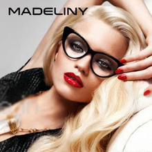 MADELINY New Fashion Cat Eye Sunglasses