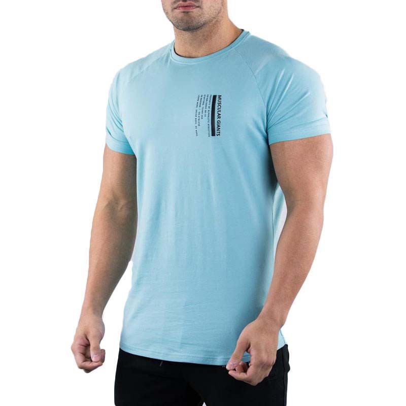 Casual Men 39 s T Shirt Top 2019 Summer Street Apparel Men 39 s Clothing Fashion Short Sleeve Top Joggers Fitness Brand T Shirt in T Shirts from Men 39 s Clothing