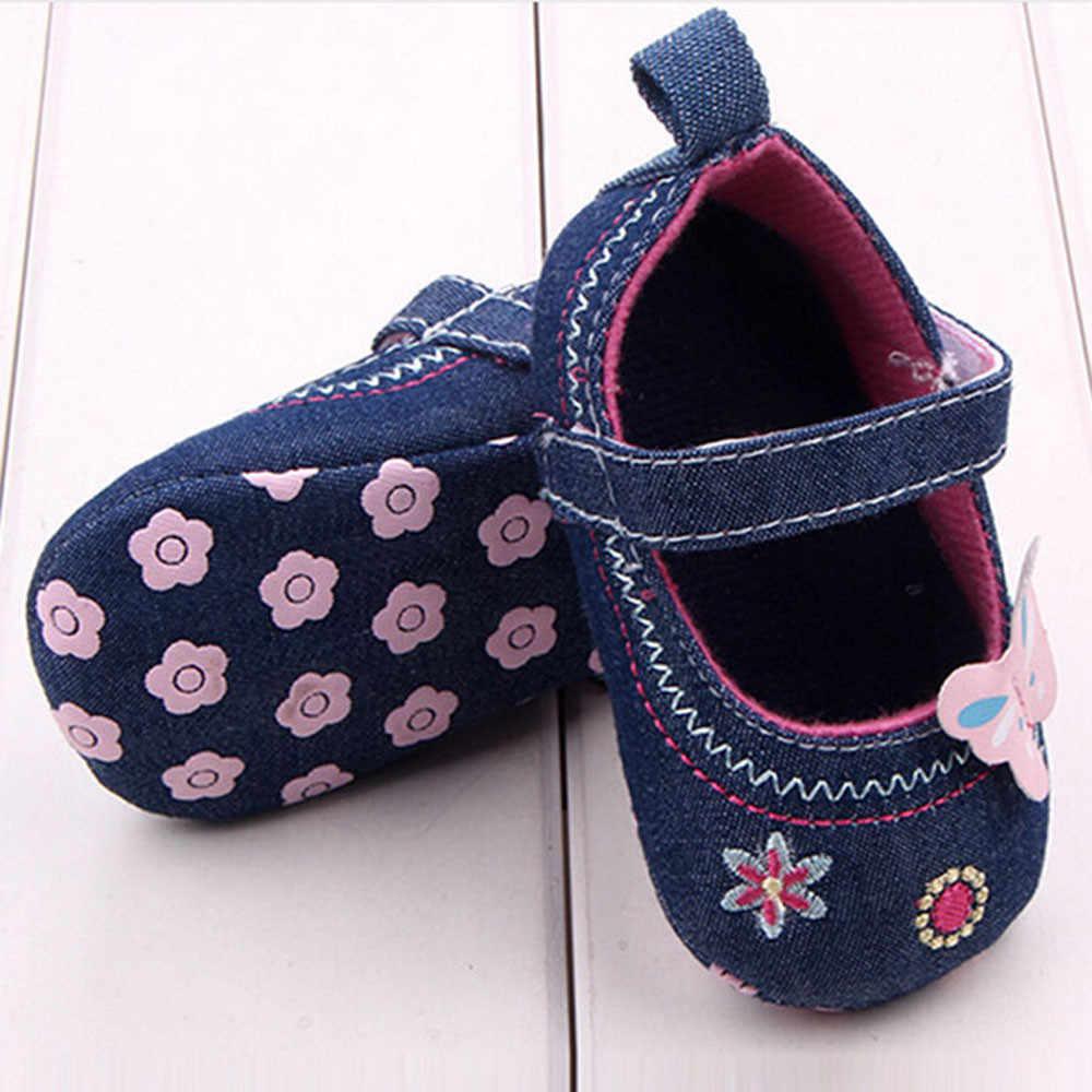 אופנה תינוק נעלי פרפר רך בלעדי פעוט נעליים