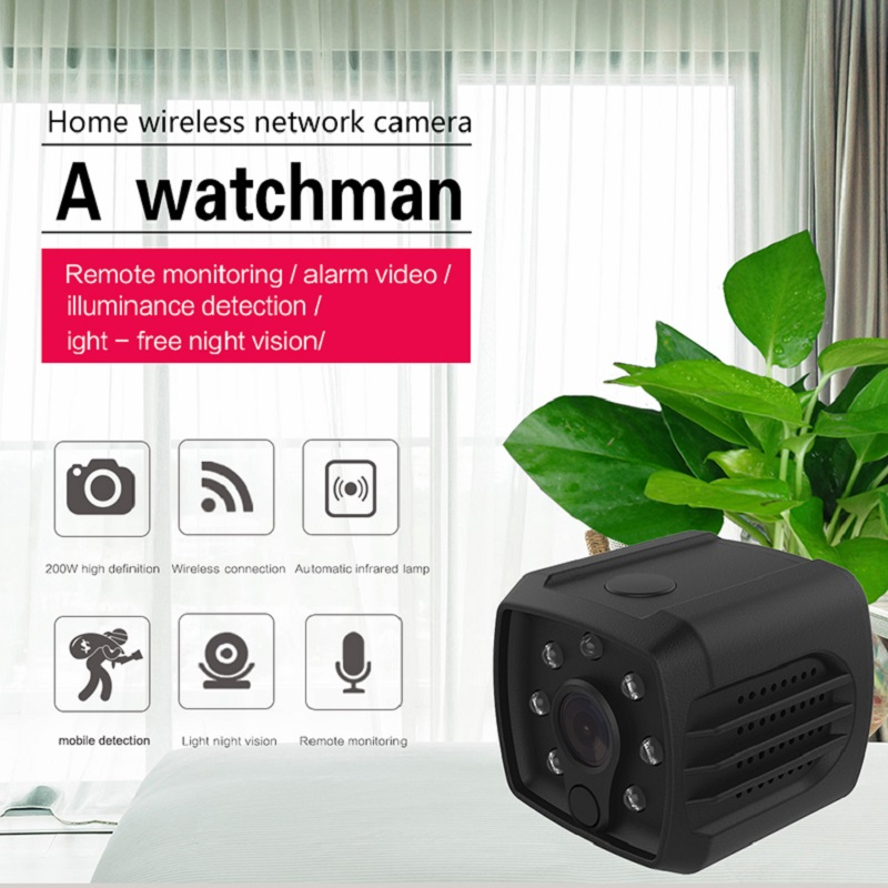 H7 HD 1080P WIFI IP Mini Camera PTP Micro Camera Wireless IR Night Vision DVR Motion Sensor Security Monitor Cam Video Reocrder howell wireless security hd 960p wifi ip camera p2p pan tilt motion detection video baby monitor 2 way audio and ir night vision