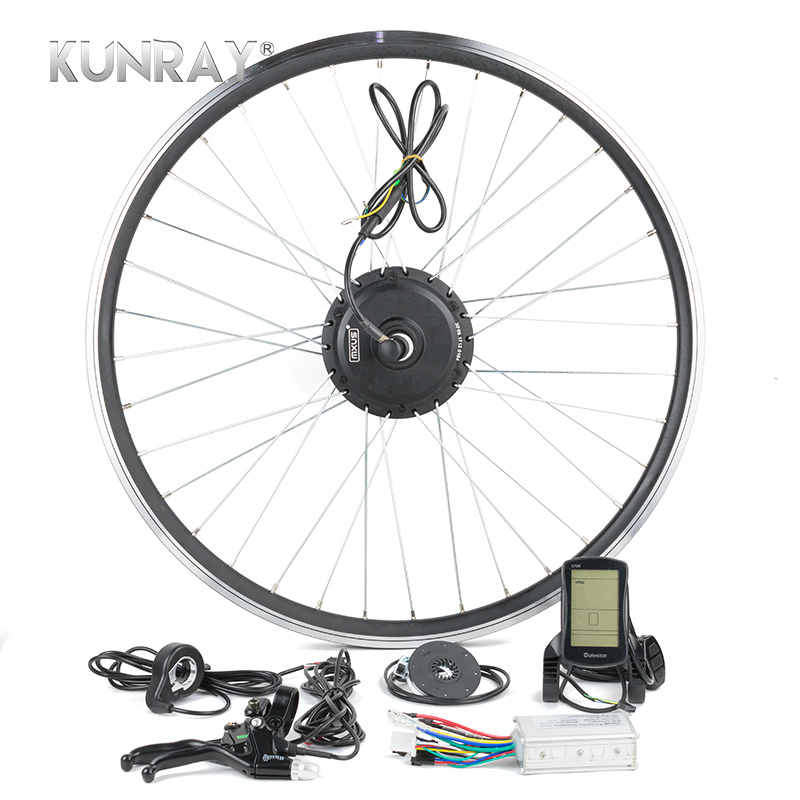 Electric Bicycle E Bike Conversion Kit 250W 48V 36V 24V For 16 20242628 Wheel Rim Hub Spokes Rear Wheel Motor Kit LCD G24R перфоратор кратон rhe 450 12 3 07 01 022