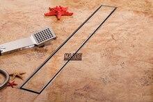 Прямоугольник для Плитки вставить линейных утечка душ wetroom долго трапных канала 700*68 мм