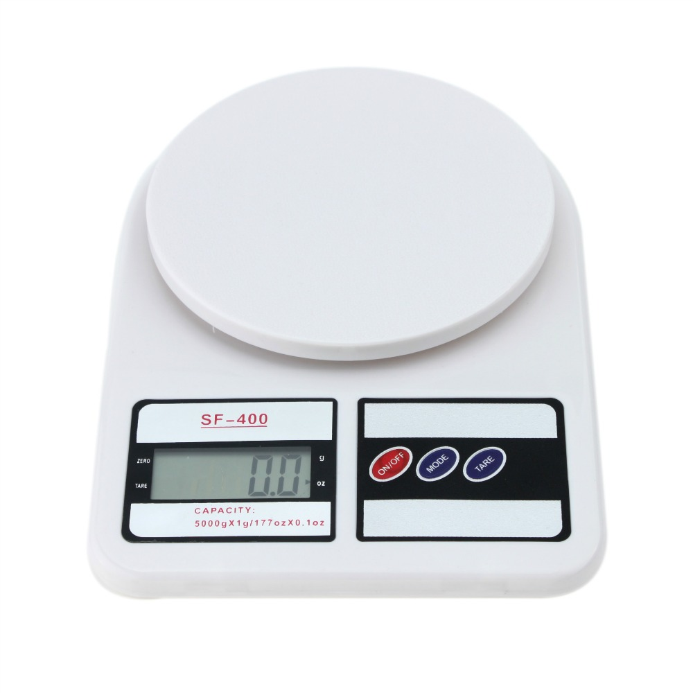Portable Electronic Scale 5kg 1g Lcd Display Weight Balance Digital Kitchen Scales Food Diet