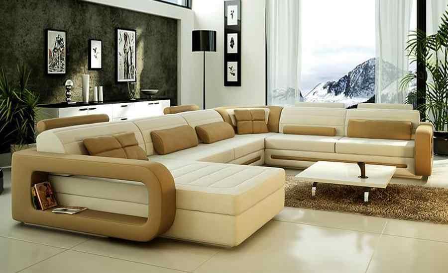 Sofa Modern Design Hot Sale Top Grain leather Sofas Corner ...
