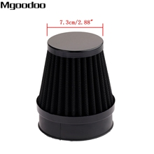 Mgoodoo 60mm Universal Motorcycle Air Filter Cleaner Clamp-on Motocross Pods ATV Dirt Pit Bike Scooter For Honda Suzuki KTM