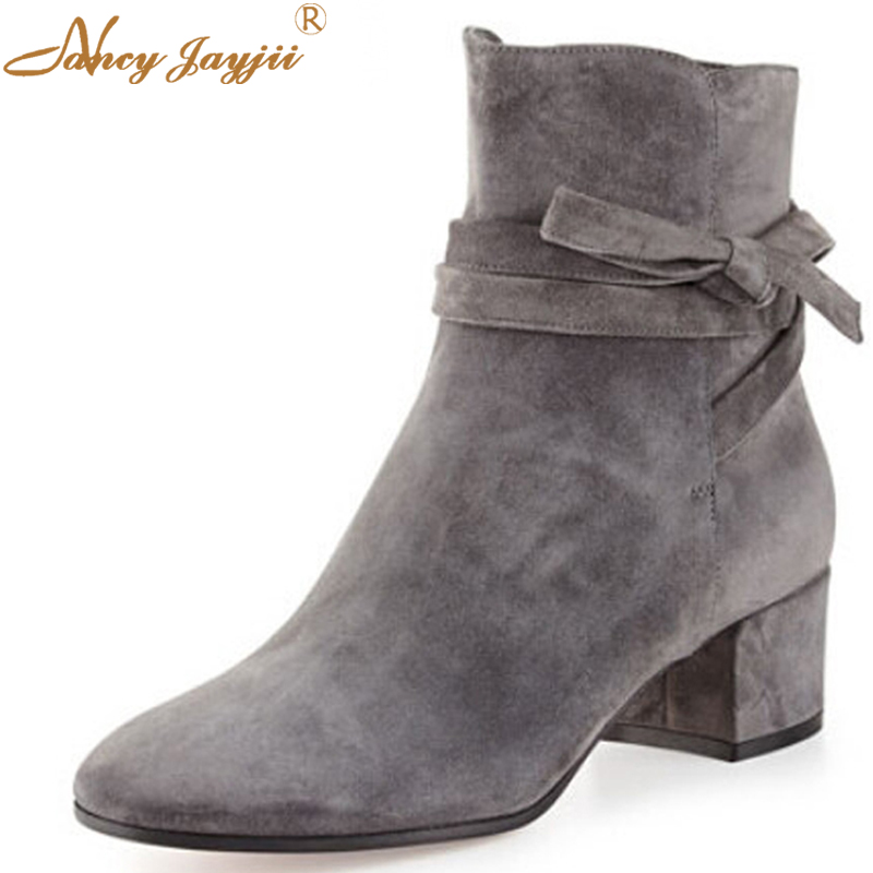 lower price with designer fashion low priced BC women New Dark Grey Comfort Flock Suede Low Heels Pointed Toe ...