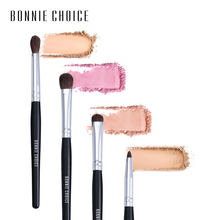 BONNIE CHOICE Professional Eyeshadow Makeup Brush Blending Natural Hair Concealer Shading Highlighter Powder  Wooden Handle Make