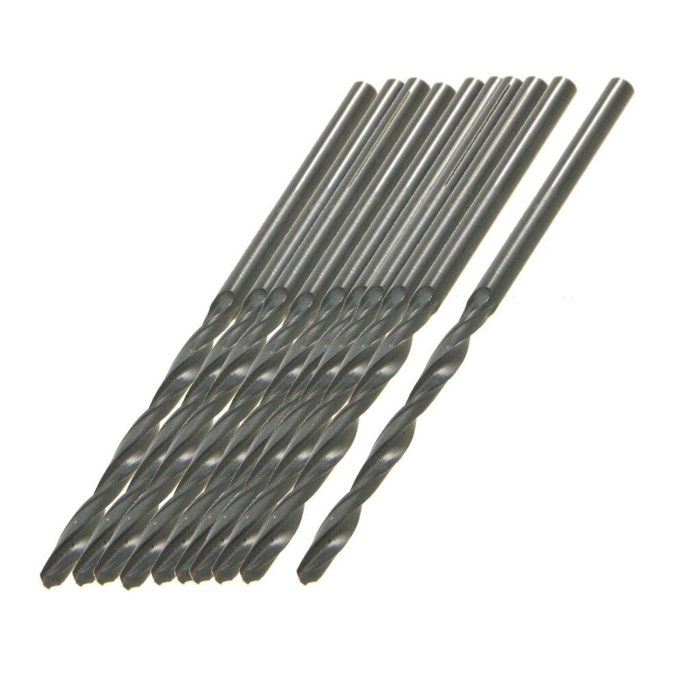Uxcell 10pcs 5 4 4 6 6 4 3 3 9 4 4 2 8mm Twist Drill Bits HSS Straight Shank Drill Bit Wood Drilling Electric Drills Tool in Drill Bits from Tools