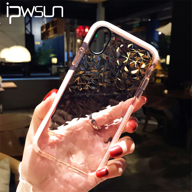 iPWSOO Case For iPhone 7 6 6S 8 Plus X Fashion 3D Shining Diamond Clear Soft Shockproof TPU Crystal Clear...  iphone 7 cases clear | Best iPhone 7 Clear Cases – Top 7 – Giveaway! [CLOSED] iPWSOO font b Case b font For font b iPhone b font font b 7 b