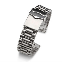 high quality for tag watchband 20mm 22mm New Top Grade Steel Polished Watch Band Strap With Stainless Steel Bands Bracelets