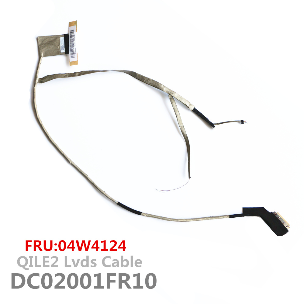New QILE2 DC02001FR10 Lvds Cable For Lenovo Thinkpad E530 E530C E535 Lcd Lvds Cable FRU:04W4124