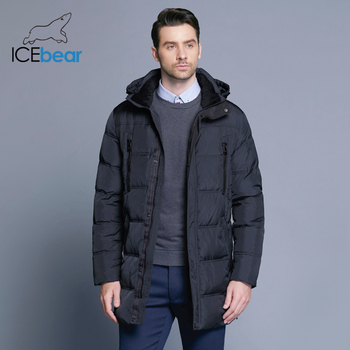 ICEbear Winter Windproof Thick Medium-Long Coat