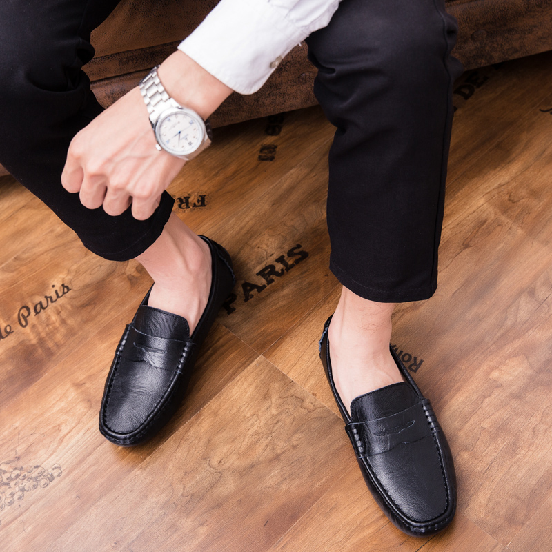Men Loafers Shoes outdoor Italy Oxfords Business Dress Boat Shoes Formal Oxford Men Flat Shoes Wedding party shoes p4 43
