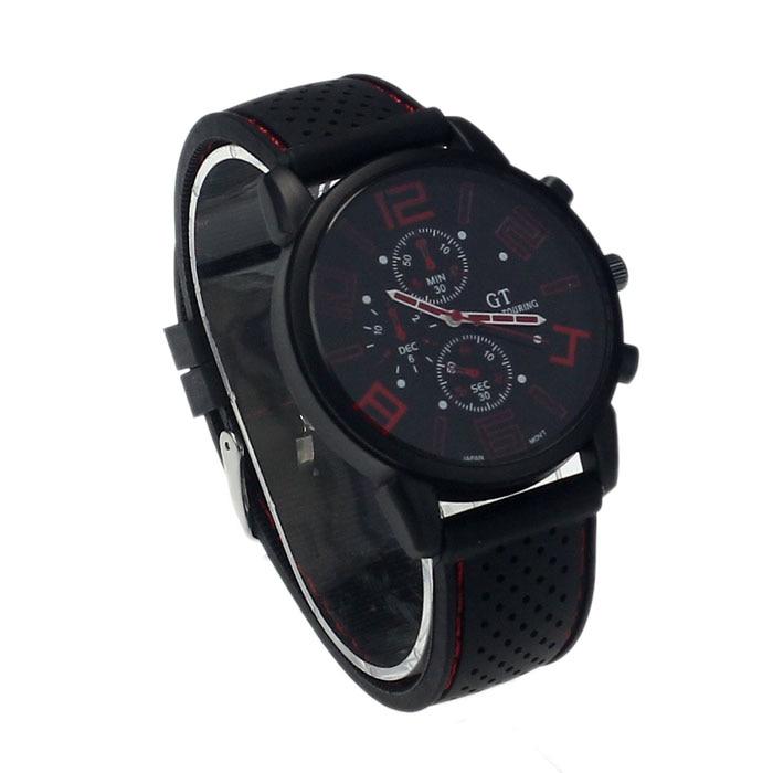 Hot 2017 New Mens Stainless Steel Luxury Sport Analog Quartz Clock Wrist Watch Gift relogio feminino masculino Uhren relojes