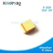 20pcs B 3528 22uF 16V SMD tantalum capacitor