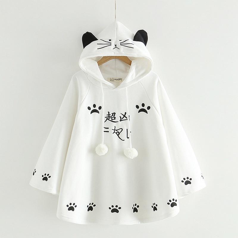 white hoodies