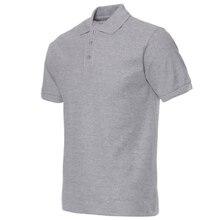 bd4388b2a8 2018 homens camisa polo marca dos homens de cor sólida camisas polo camisa  masculina dos homens casual algodão manga curta polos.