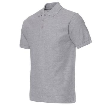 2020 Men Polo Shirt Brand Mens Solid Color Polo Shirts Camisa Masculina Men's Casual Cotton Short Sleeve Polos Hombre Jerseys