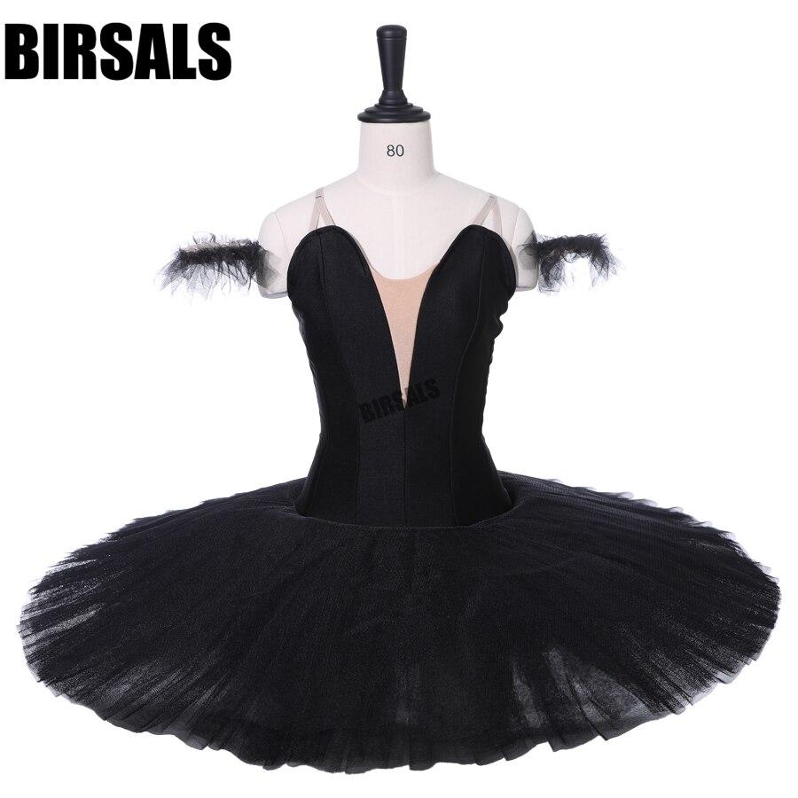 Черная птица балетный костюм Для женщин пачка балерины профессиональная балетная пачка балерина балетная пачка юбка BT9111