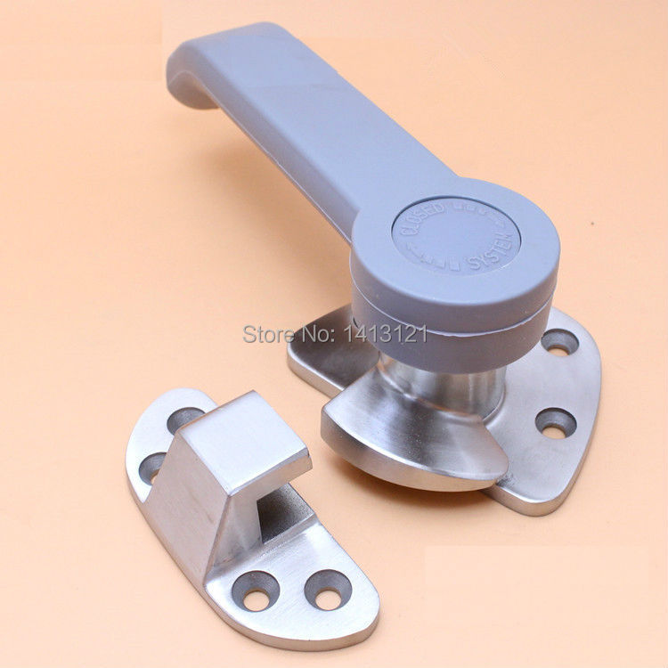 free shipping stainless steel door handle steam box hinge oven door lock cold store hinge cabinet pull cookware repair part top quality 304 stainless steel interior door lock big 50 small 50 series bedroom door anti insert handle lock