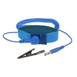 Einstellbare Anti Statische Armband Discharge ESD Kabel Reusable Handgelenk Band Armband Hand Mit Erdungskabel