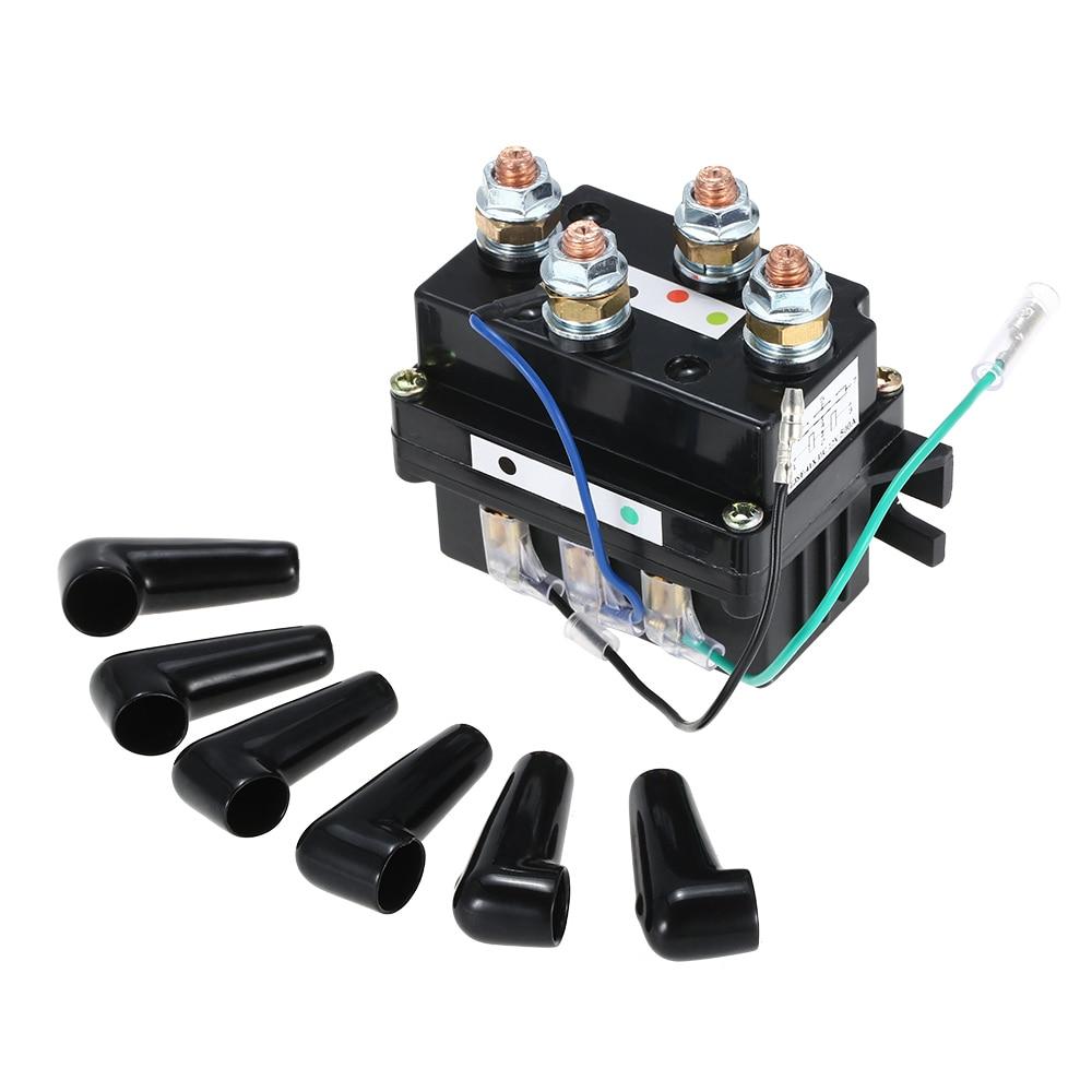 12 В тяжелых Лебедка электромагнитный обновления реле Equiv 500A AMP восстановления 4x4 17000lb больше контакта с лица/ быстрее связаться с застежка