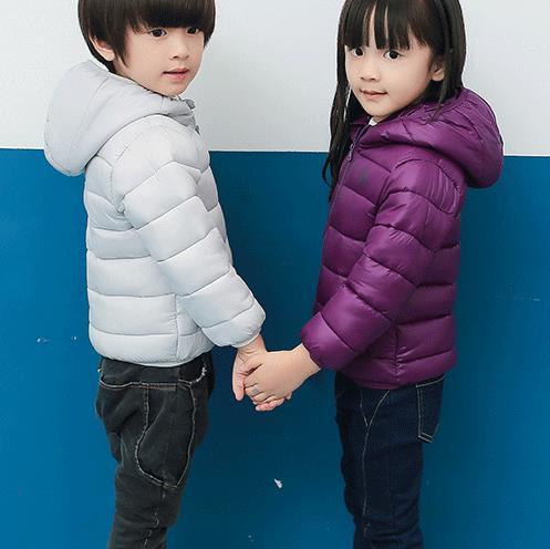 2016 New Winter Children Jackets Brand Hooded Kids Baby Girls Warm Outerwear For 2 6 Years