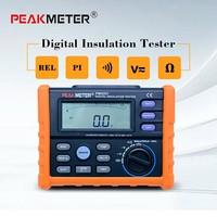 High Precision MS5203 Digital Insulation Resistance Meter Tester Multimeter Megohm Meter 0.01 10G ohm HV meter 50V 1000V output