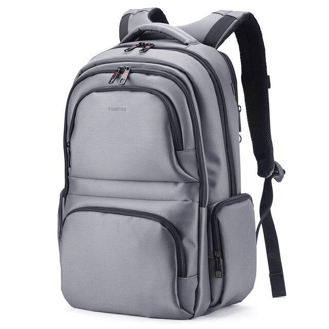 f2cadb6dcd Tigernu Computer Bag Backpack Anti-Thief Dark Grey Nylon Waterproof Bag for Notebook  Backpack Laptop Bag 15.6