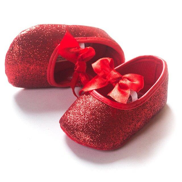 Baby Schoenen Pasgeboren Goud Zilver Baby Prinsessen Schoenen Met
