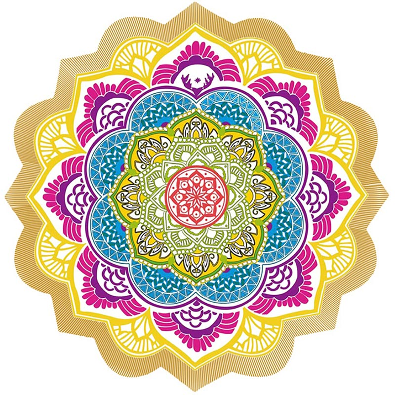 The Lotus Yoga Mat 147*147CM