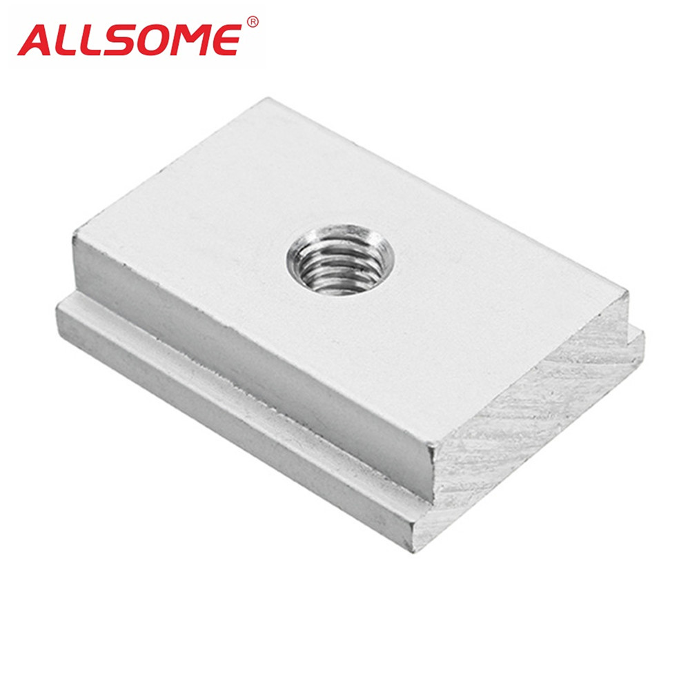 ALLSOME M6 M8 T-Track Sliding Nut T Slot Nut For Woodworking Tool Slot Fastener HT1882