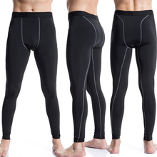 sport Gym men Fitness Leggings Compression pants running tights Breathable WorkOut Quick Dry