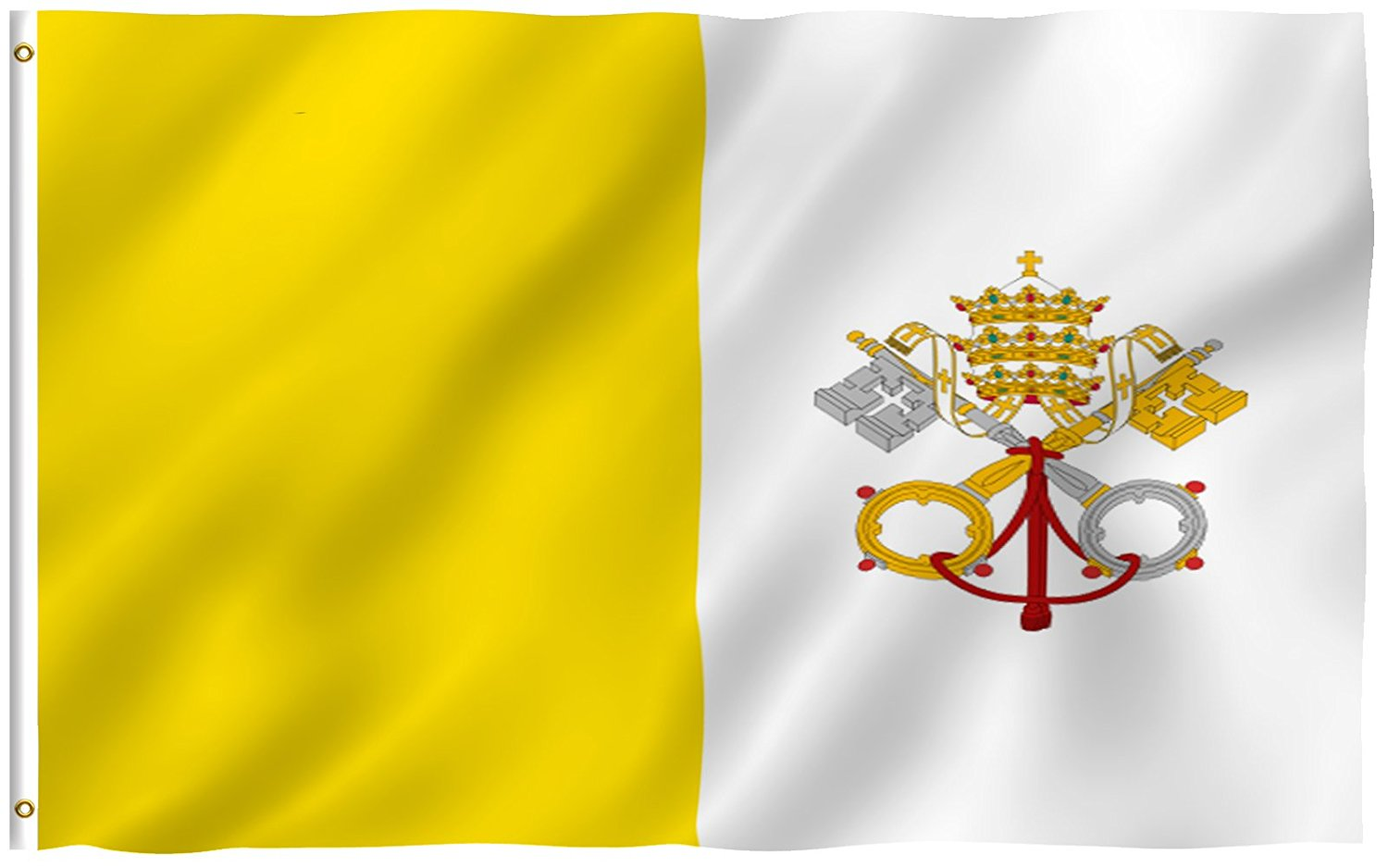 MOFAN Vatican Flag State Of Vatican City Flags Polyester