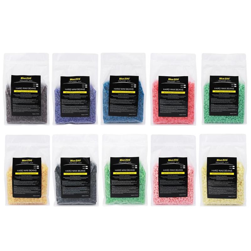 1000 g Hot Film Hard Wax Beans Painless Depilatory Wax Pellet No Strip Body Hair Removal Beans Anti Allergy Quick Effect