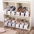 1 шт.  Высококачественная стойка для обуви и органайзеров  полка для обуви  компактный шкаф для обуви  держатель для обувной коробки