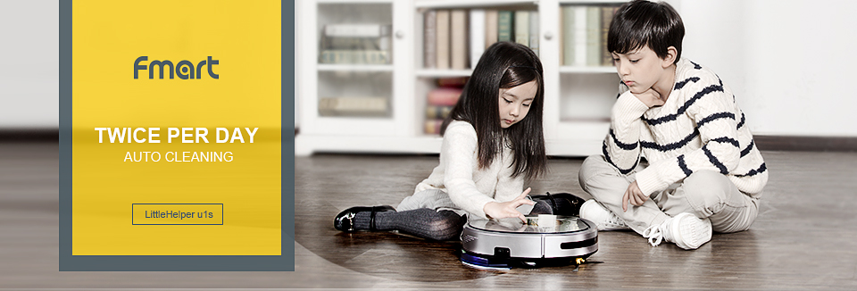 Fmart YZ-U1S Robot Vacuum Cleaner UV Dust Sterilize with 1000Pa Suction Automatic Sweeping Selfcharge Remote Control PYLOSOS (1)