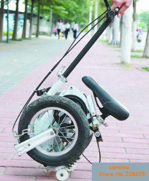 A envío libre de rusia! la más pequeña bicicleta en el mundo 12 '' con multifunc