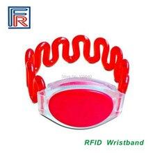 Высококачественный купальный бассейн браслет управления доступом водонепроницаемый браслет ABS 125 khz EM rfid бирка 500 шт/лот