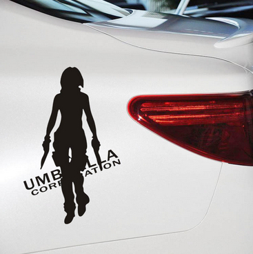 Alice cool car stickers for girls guys personalized car body decal decoration skin