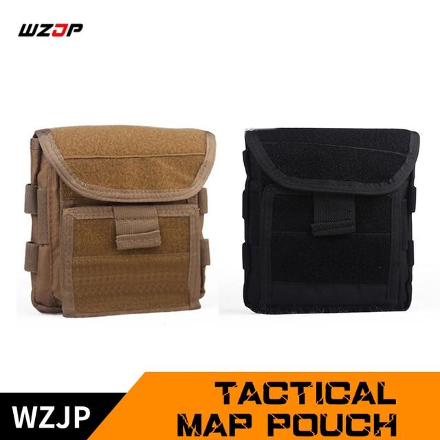 WZJP 1000D Молл Для мужчин Тактический Журнал Чехол для хранения пистолет кобуры пистолет Сумка EDC утилита аксессуар пакет Mag Map сумка